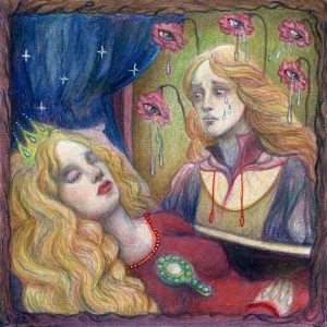 Aurora and Crying Roses