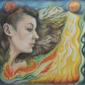 Fiery Rebirth under Mars and Jupiter